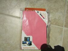 """RooCase Samsung Galaxy Tab 3 LITE 7"""" Leather DualView  PINK Case BOOK LOT OF 10"""