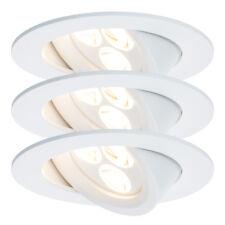 Paulmann 926.89 Einbauleuchten-Set Premium Line Snowy LED Set 3x7,3W schwenkbar