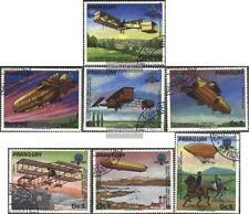 Paraguay 3698-3704 (edición completa) usado 1984 200 años aviación