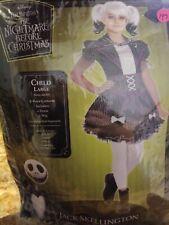 The Nightmare Before Christmas Jack Skellington Costume, Girl, Large #147