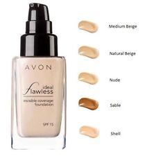 Productos de maquillaje líquido Avon para el rostro