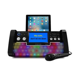 Easy Karaoke EKS780BT Bluetooth Karaoke Sound System Speaker Party DJ CDG Screen