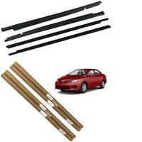 2009-2012 Rav4 Door Belt Molding Door Weatherstrip Set OEM Genuine Toyota