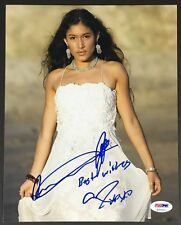 Q'ORIANKA KILCHER SIGNED 8X10 PHOTO AUTOGRAPH PSA DNA COA