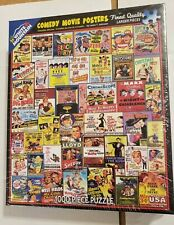 White Mountain Comedy Movie Posters Puzzle 1000 Piece NEW Sealed 2015