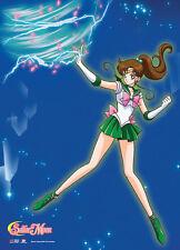 *NEW* Sailor Moon: Sailor Jupiter Lightning Wall Scroll by GE Animation