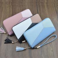 Beautiful Women Wallet PU Leather Zipper Wallet Women Purse Mobile Phone Bag  t