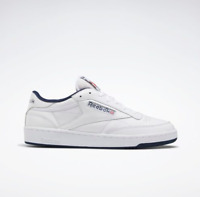 New Reebok Club C 85 Sneakers Authentic Men's Tennis Shoes White Color - FX3433