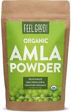 Organic Amla Powder - 16oz Resealable Bag (1lb) - 100% Raw From India - by Feel