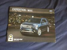 2019 Ford Expedition and Expedition Max Color Brochure Catalog Prospekt