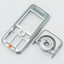 Silver Front Fascia and Camera Cover For Sony Ericsson K700 K700i