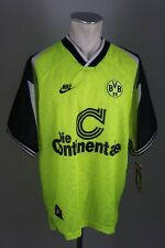 Borussia Dortmund Trikot 1995-96 Gr. XL BVB 09 Nike jersey Continentale Neu