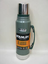 Nuevo Botella de vacío de acero inoxidable clásico de Stanley matraz Jar 1L Verde