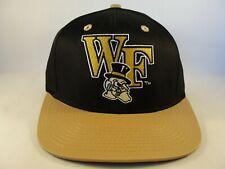Wake Forest Demon Deacons Ncaa Snapback Hat Cap Black Gold