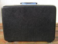 """Vintage SAMSONITE Hard Shell BRIEFCASE Attache Case BLACK 18.5"""" x 13"""" x 3.5"""""""