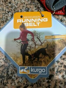 Kurgo K9 Excursion Adjustable Running Belt Dog Canine Walking Hiking Belt NWT