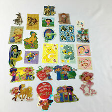 Lot of Character Stickers Strawberry Shortcake Care Bears Disney Cartoons