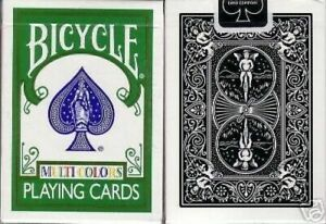 OHIO Made Machiavelli Bicycle 808 MULTI COLORS Fragment X Playing Cards Decks!
