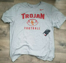 USC Trojans Nike BCS Football Oopty Oop T-Shirt – Gray – XXL