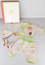 Pandi Panda Kimono Set Pumphose Mütze Schuhe Geschenk Geburt Taufe 3-6M P6-PP2
