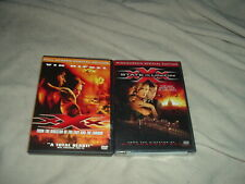 Xxx 1 + 2 Dvd Lot Set xXx Vin Diesel State of the Union is Brand New