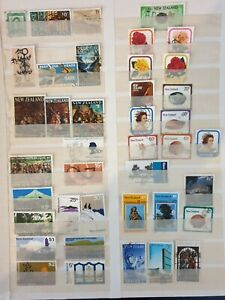 New Zealand  mixed years & subjects 40 stamps used