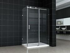 New Frameless Sliding Door shower screen No base 8mm Glass 900X1800X1950