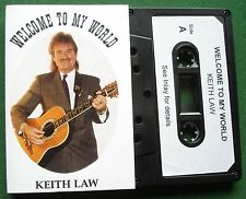 Keith Law Welcome to My World inc Adios Amigo + Signed Cassette Tape TESTED