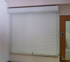BAR  ROLLER SECURITY SHUTTERS - ELECTRIC or MANUAL - aluminium or steel