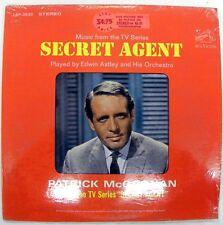 SECRET AGENT TELEVISION SOUNDTRACK LP RCA VICTOR LSP-3630 VNL 8.0 SLV 8.0