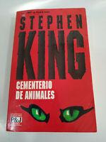 Stephen King Cementerio de Animales - LIBRO 1993 P&J 481 Pgs Español
