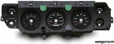 New Vintage USA Direct Fit Black Gauge Package Fits 1970-1972 Chev. Chevelle  -