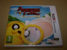 Adventure Time Finn & Jake Investigations  3DS **New & Sealed**