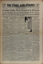Stars and Stripes Jul 17 1944 - Grodno Falls; Reds Stand at East Prussia