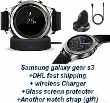 Samsung Galaxy Gear S3 Classic 46 mm SM R775 LTE+ dhl shipping and a gift