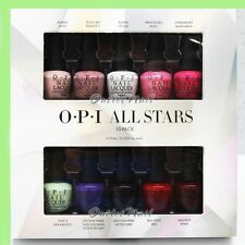 OPI Nail Lacquer Mini 10 Colors ALL STARS - STARLIGHT 2015 Holiday Collection