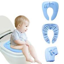 Baby Travel Folding Potty Seat Toddler Portable Toilet Training Pad Cushion