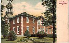 Postcard Canada Mount Forest Ontario Central School