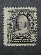 RIV: US unused 306 Single NO GUM 8 cent 1902 Martha Washington issue mint 2W