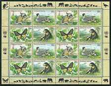 Timbres Animaux Nations Unies New York F 754/7 ** année 1998 lot 4167