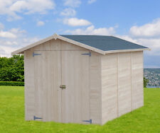 CASETTA BOX IN DI LEGNO 234x325 porta doppia casette giardino attrezzi 200x300