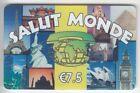 FRANCE TELECARTE / PHONECARD PREPAYEE .. 7€50 S.M TOUR EIFFEL PISE EGYPTE +N°