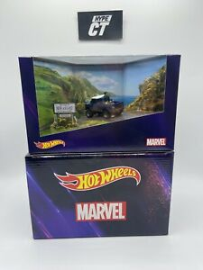 Hot wheels Land Rover Defender 110 Marvel SDCC Exclusive ⭐️Free Shipping⭐️