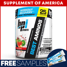 "Bpi Best Aminos BCAA + Glutamine 25 Servings ""FREE SHIPPING"""