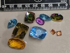 20 carats Vibrant & Psychedelic colors MYSTIC TOPAZ Gemstones (#u403)