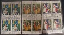 DDR Briefmarken 1974 Mon Plaisir mit EST 4-er Blöcke Gummiert