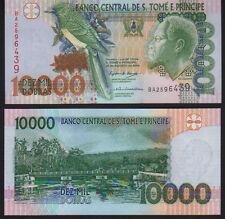 ST. Thomas & Principe 10,000 dobras 2004 PICK 66b UNC Nuovo di zecca