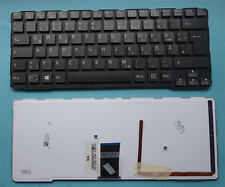 Tastatur SONY Vaio SVE14A2X1EH SVE14A1M6EB Keyboard LED Backlit Keyboard