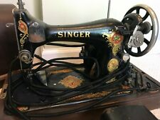 Vintage SINGER Sewing Machine from 1925. Bentwood Case Included!
