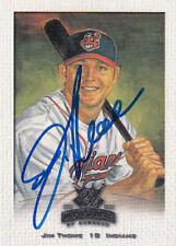 2002 Donruss Diamond Kings Set Autograph 1/1 Jim Thome Indians SP Rare!